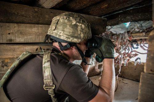 Российские наемники на Донбассе опять нарушили режим прекращения огня