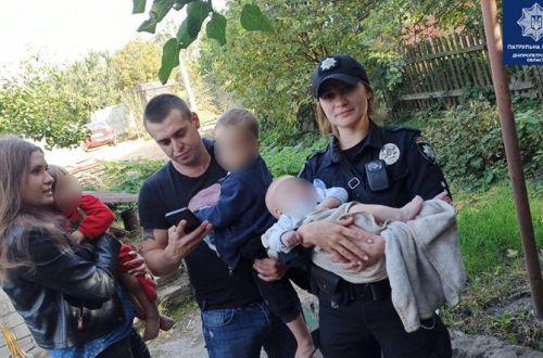 В Днепре горе-родители заперли маленьких детей в доме и уехали на двое суток