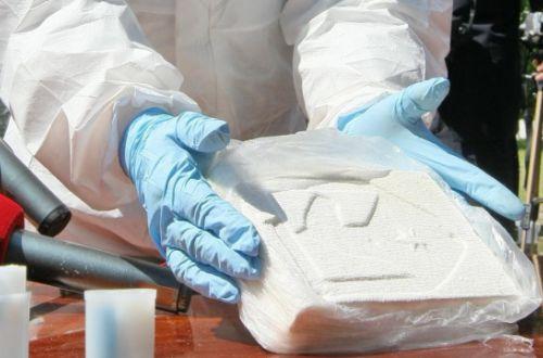 Пограничники перекрыли контрабанду кокаина на миллиард гривень