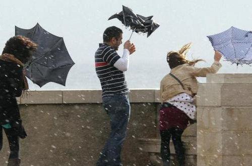 Шквальный ветер по всей стране: в Украину пришел мощный циклон
