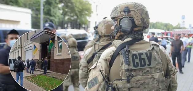 В СБУ рассказали, почему обыскивали территориальные органы ГТС