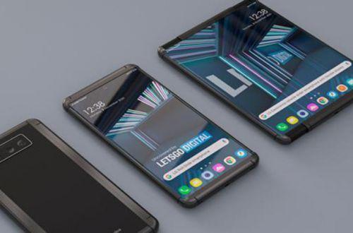 LG похвасталась первым смартфоном с растягивающимся экраном