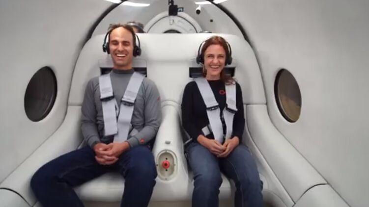 Первые пассажирские испытания вакуумного Hyperloop показали на ВИДЕО