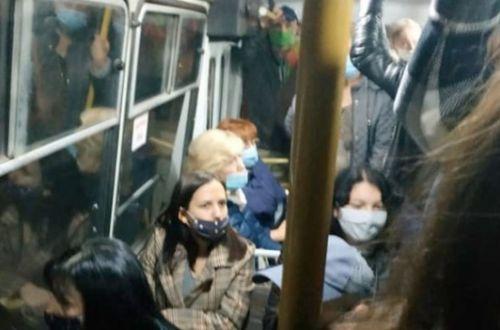 В Николаеве маршрутчик попал на 17 тысяч из-за стоячих пассажиров