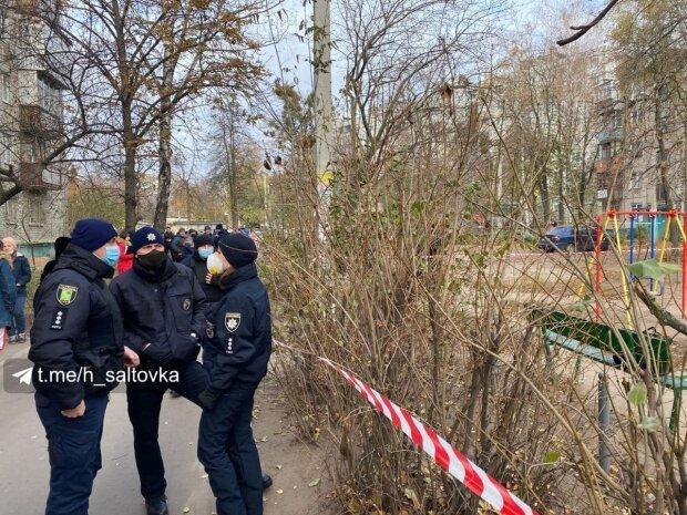 Харьковчанин лишился руки в парке: угрожал бывшей жене гранатой