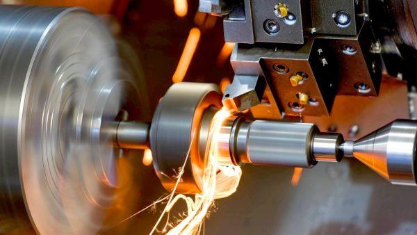 Токарная обработка при изготовлении деталей из металла