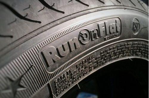 Что означают шины с маркировкой run flat
