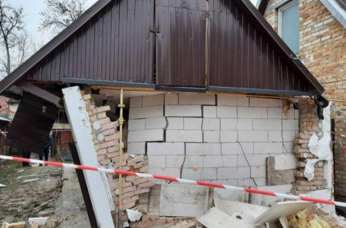 На Львовщине взрыв газа практически сложил дом: владельца госпитализировали
