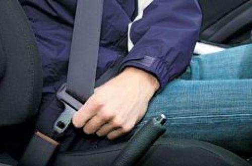 Назван процент украинских водителей, пристегивающихся ремнями безопасности