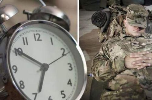 Военная уловка, помогающая заснуть всего за 120 секунд