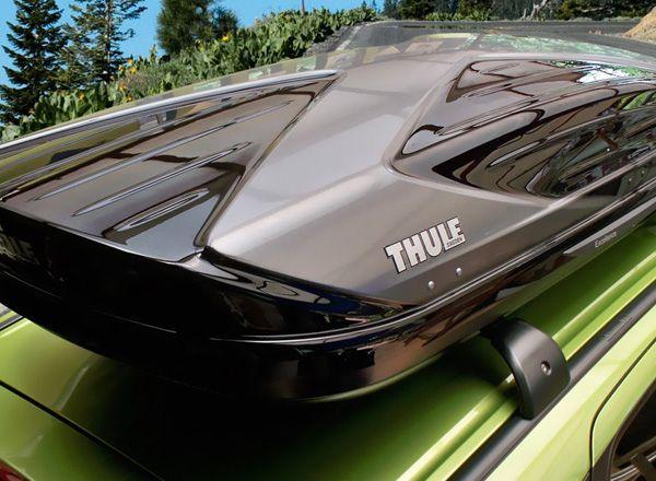 Боксы на крышу машины от Thule