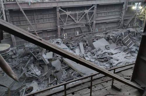 ЧП на одном из предприятий Запорожья: в здании цеха рухнула крыша