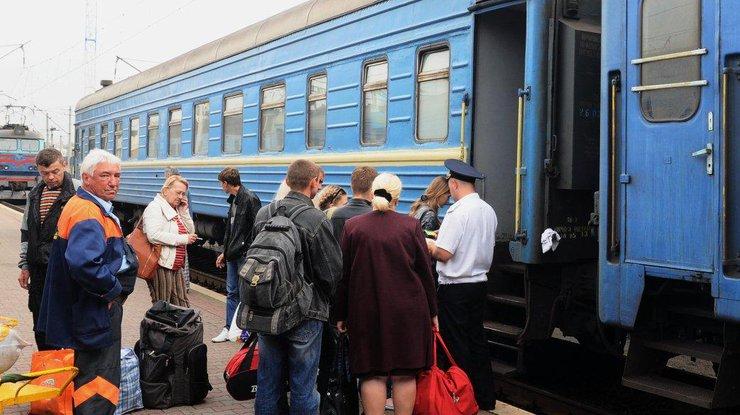 Укрзализныця упрощает посадку пассажиров в вагоны