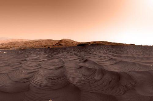 Ученые получили невероятно захватывающее фото с Марса