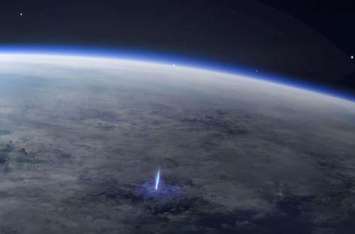 С МКС заметили странные всполохи над поверхностью Земли. ВИДЕО