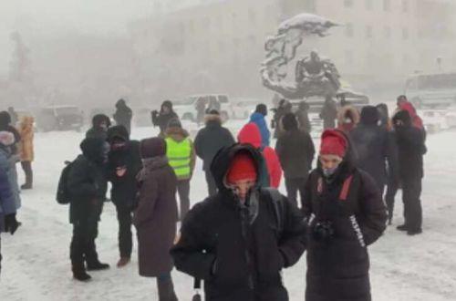 В России митингуют в поддержку Навального, начались задержания