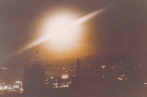 """Над Канарскими островами видели гигантский НЛО с двумя """"пришельцами"""""""