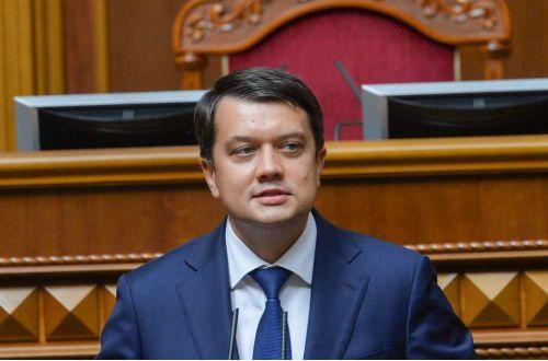 Разумков прокомментировал скандал с заменой на Стефанчука