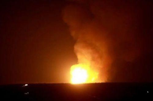 Пламя видно за километры: на газопроводе в оккупированном Луганске прогремел взрыв
