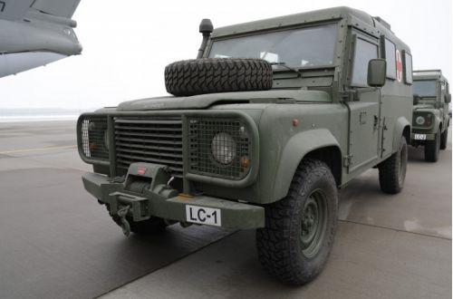 ЗСУ отримали бронеавтомобілі від Латвії
