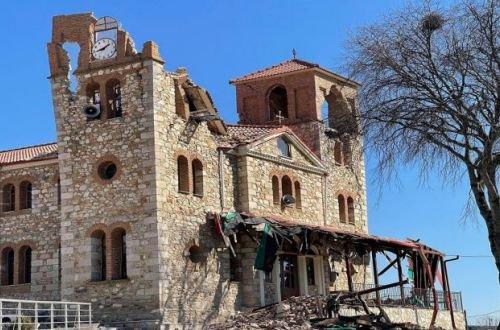 Греция опять пострадала из-за мощного землетрясения: есть разрушенные здания