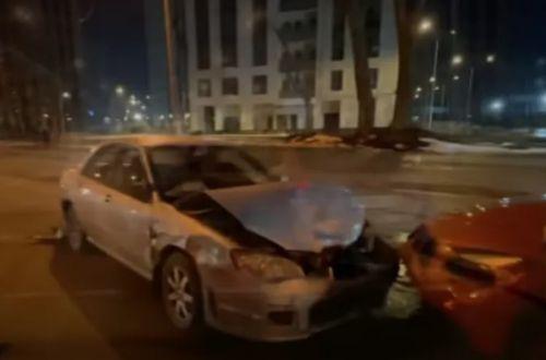 В Киеве пьяный журналист устроил двойное ДТП. ВИДЕО
