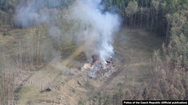 Смертельный взрыв на складе: в чем Чехия обвиняет подозреваемых в отравлении Скрипалей (фотогалерея)