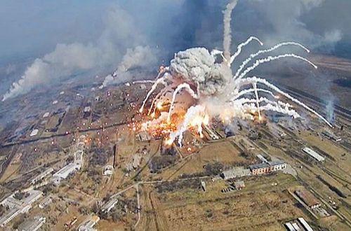Bellingcat: Взрывы на складах боеприпасов в Украине могли устроить спецслужбы РФ
