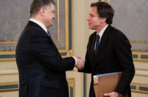 Порошенко уличили в манипуляции с фото госсекретаря США