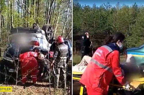 Под Сумами случайный прохожий спас женщину, зажатую в лесополосе. ВИДЕО