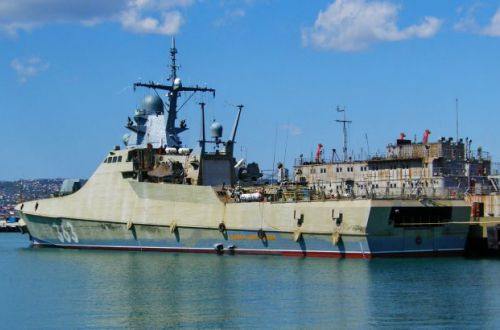 РФ отправила к украинскому побережью ракетный корабль