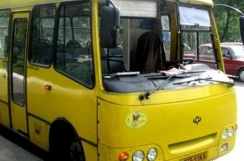 В Борисполе маршрутка на ходу потеряла пассажира, а полиция делает вид, что ничего не было