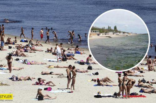 Плачевная ситуация: на известном украинском курорте нечистоты сбрасывают прямо в море