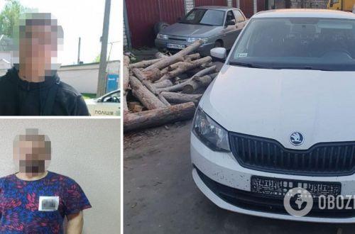 Избили водителя и угнали его авто: в Киеве задержали двоих разбойников-рецидивистов