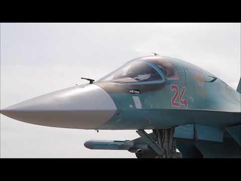 В Сети показали последствия авиаудара Су-34