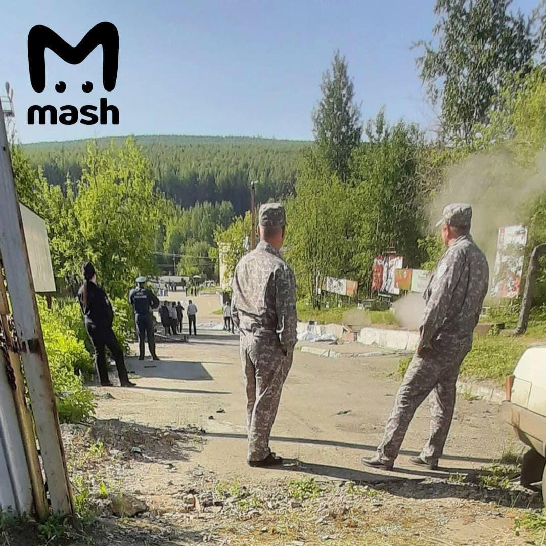 В России автобус влетел в группу рабочих: 6 погибших, 15 ранены