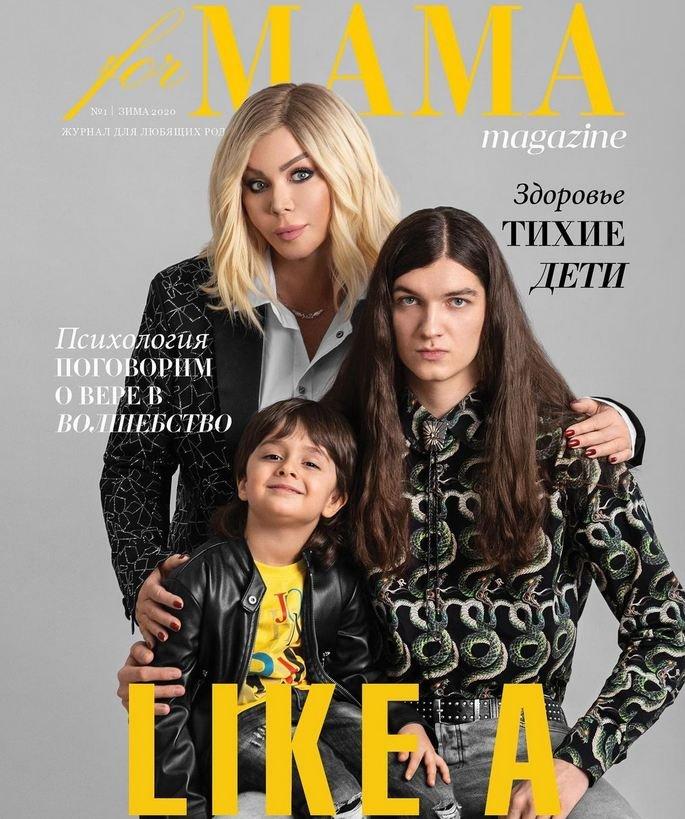Ирина Билык показала своих красивых сыновей. ФОТО