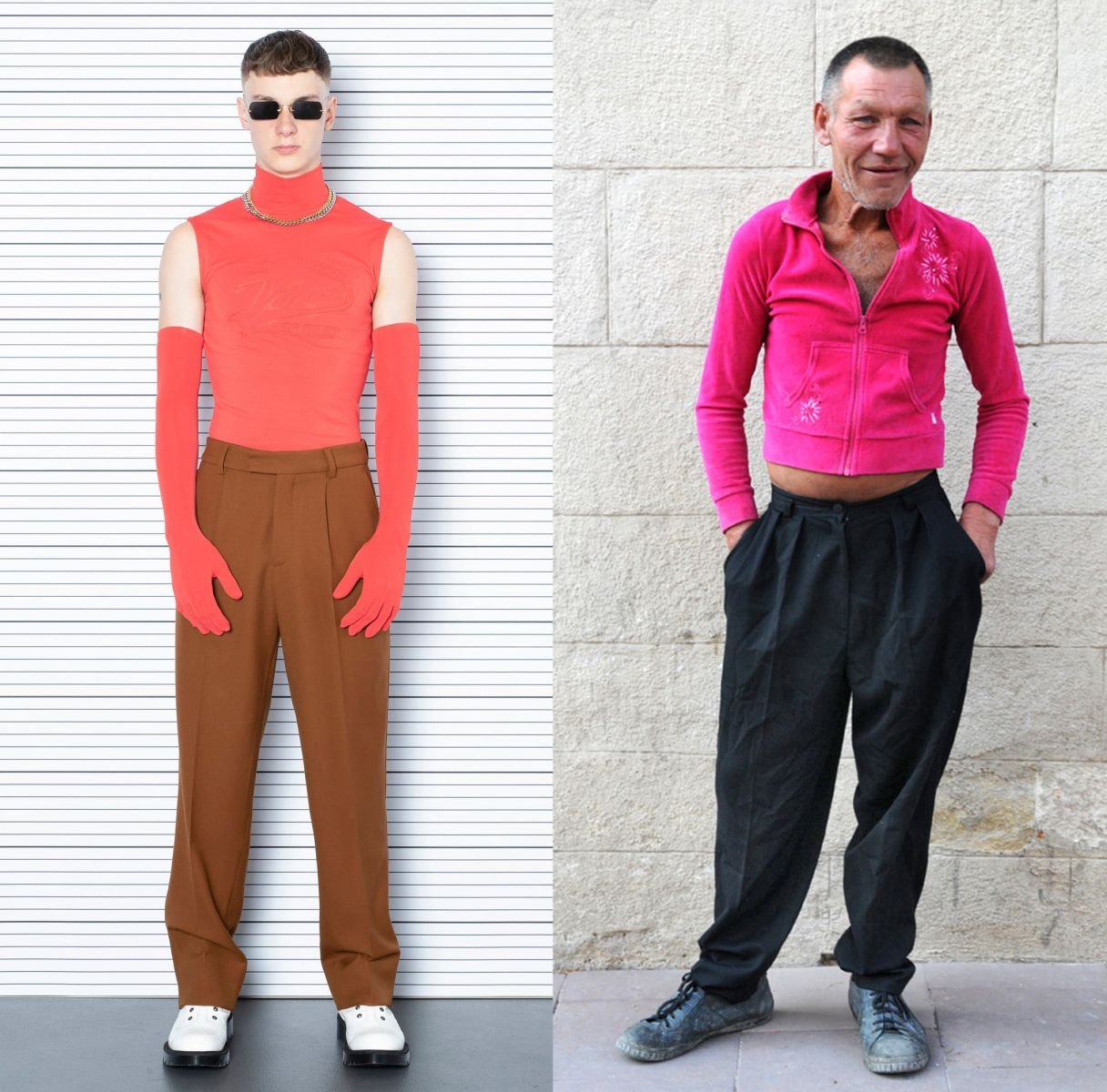 Славик и мода