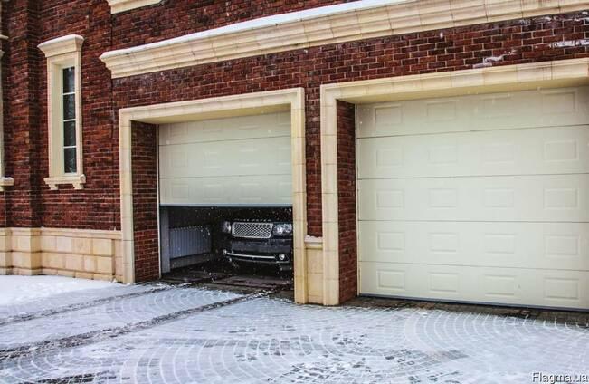 Переваги секційних гаражних ворот